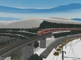 待避線レイアウト追加ローカル線キハ81-4