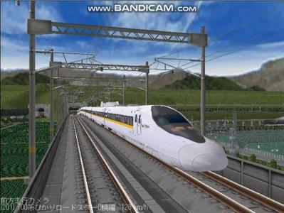 越河レイアウト東北新幹線700系レールスター3