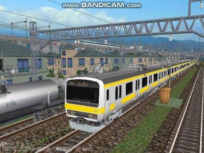 越河レイアウト電車シリーズ77-209系500番台1