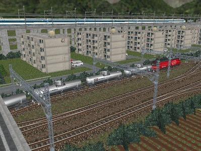 新幹線本線越河本線部分制作18