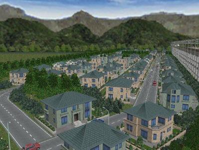 白石駅構内完成形下り方面2住宅