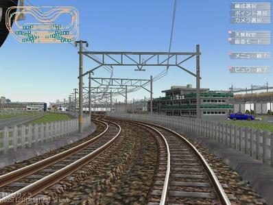 KATOユニトラックレイアウトプランPC鉄道柵2
