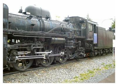 仙台新幹線車両基地展示車両C58-365-5