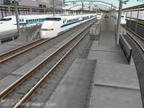 新幹線高架駅練習7