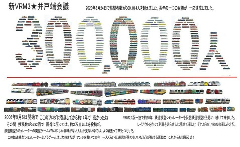 30万人訪問者突破画像60