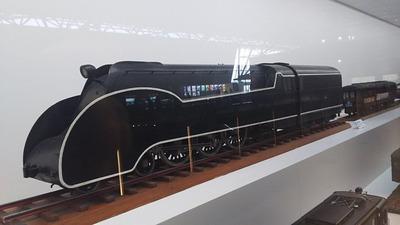 鉄博63−C55流線形蒸気機関車