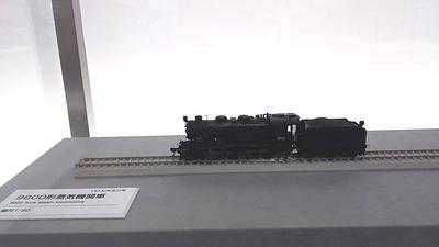 京都鉄道博物館96HOゲージ9600形蒸気機関車1