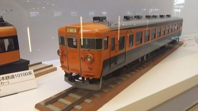 鉄博55−クハ153系急行電車