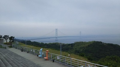 神戸淡路鳴門自動車道淡路SA明石海峡大橋3911m-1