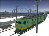 雪景色完成その10 EF5845青大将3