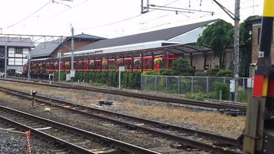 京都嵐山Jトロッコ列車2