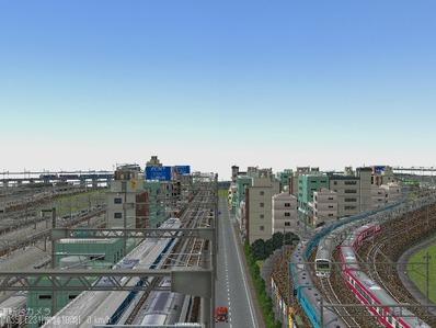KATOユニトラックレイアウトプ6-9中央駅前周辺11