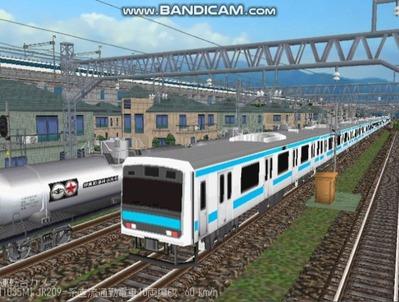越河レイアウト電車シリーズ79-209系京浜東北線1
