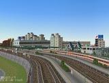 ニュータウン駅4.