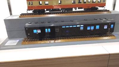 京都鉄道博物館93オユ11形郵便車1