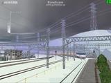 北の貨物駅通過中EF81-502-3