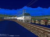 EF66-101月明り雪景色3.