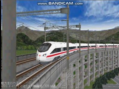 越河レイアウト東北新幹線ICI-T411-7