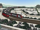 スイス国鉄IC2000二階建て客車7