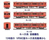 待避線レイアウト追加ローカル線キハ35-首都圏色