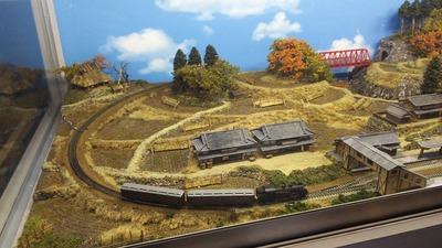 京都鉄道博物館179-ローカル風景ジオラマ2
