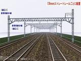 IMAGIC 4線架線柱鉄骨型 128�正面1