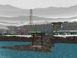 仮想津軽海峡線VRM3神社2
