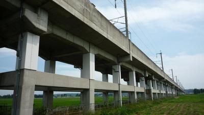 東北新幹線高架橋脚B