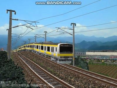 越河レイアウト電車シリーズ77-209系500番台4