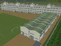 越河駅レイアウト高校サッカーグランド7