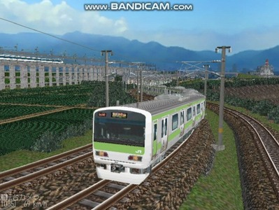 越河レイアウト電車シリーズ74-E231系山手線2