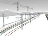 雪景色と貨物交換駅レイアウト43.jpg