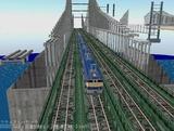 瀬戸大橋1000トン試験21.