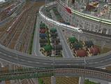3欲張り新幹線レイアウト踏切道部分89