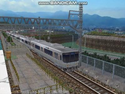 越河レイアウト電車シリーズ68-223系1000番台3