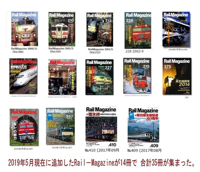 RailMagazineバックナンバー2019