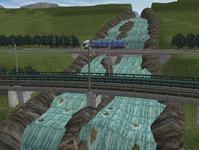 東北本線越河南トンネル大滝8