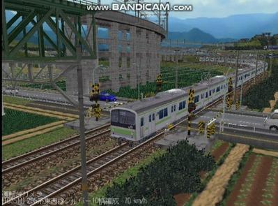 越河レイアウト電車シリーズ78-205系山手線6