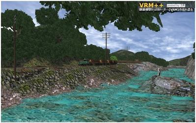 VRM漆黒氏レイアウト画像森林鉄道2