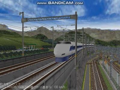 越河レイアウト東北新幹線100系VRM2版2