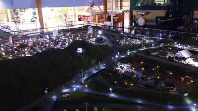 ジオラマ京都HOゲージ夜景その8