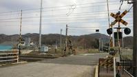 東北本線越河奥州街道駅斎川踏切2