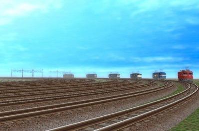 VRM5貨物牽引機関車動画から3