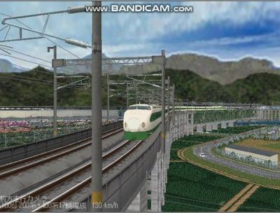 越河レイアウト東北新幹線200系4