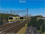 進撃の通勤電車39  JR209系南武線1