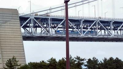 瀬戸自動車道与島トロッコ列車2