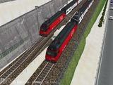 スイス国鉄IC2000二階建て客車2.