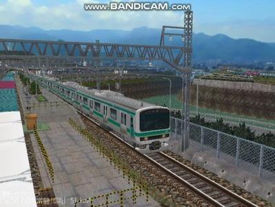 越河レイアウト電車シリーズ72-E231系常磐線3