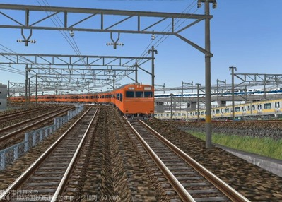 KATOレイアウトプラン6-9-103系高運転台オレンジ色3