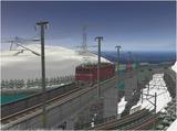 雪景色完成その26見張線4